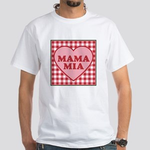 Mama Mia White T-Shirt